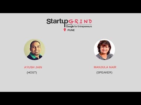 Startup Grind Pune hosts Manjula Nair, Founder @ Creative Bharat