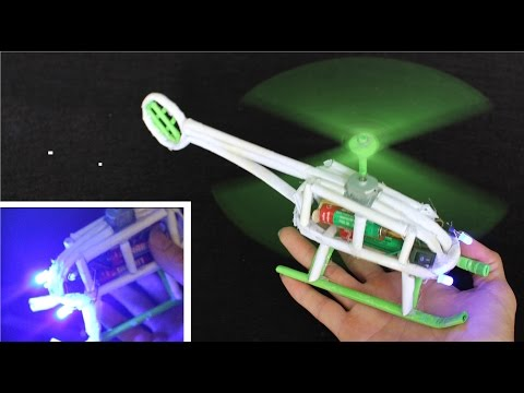 How to make a Paper Helicopter | Electric Power