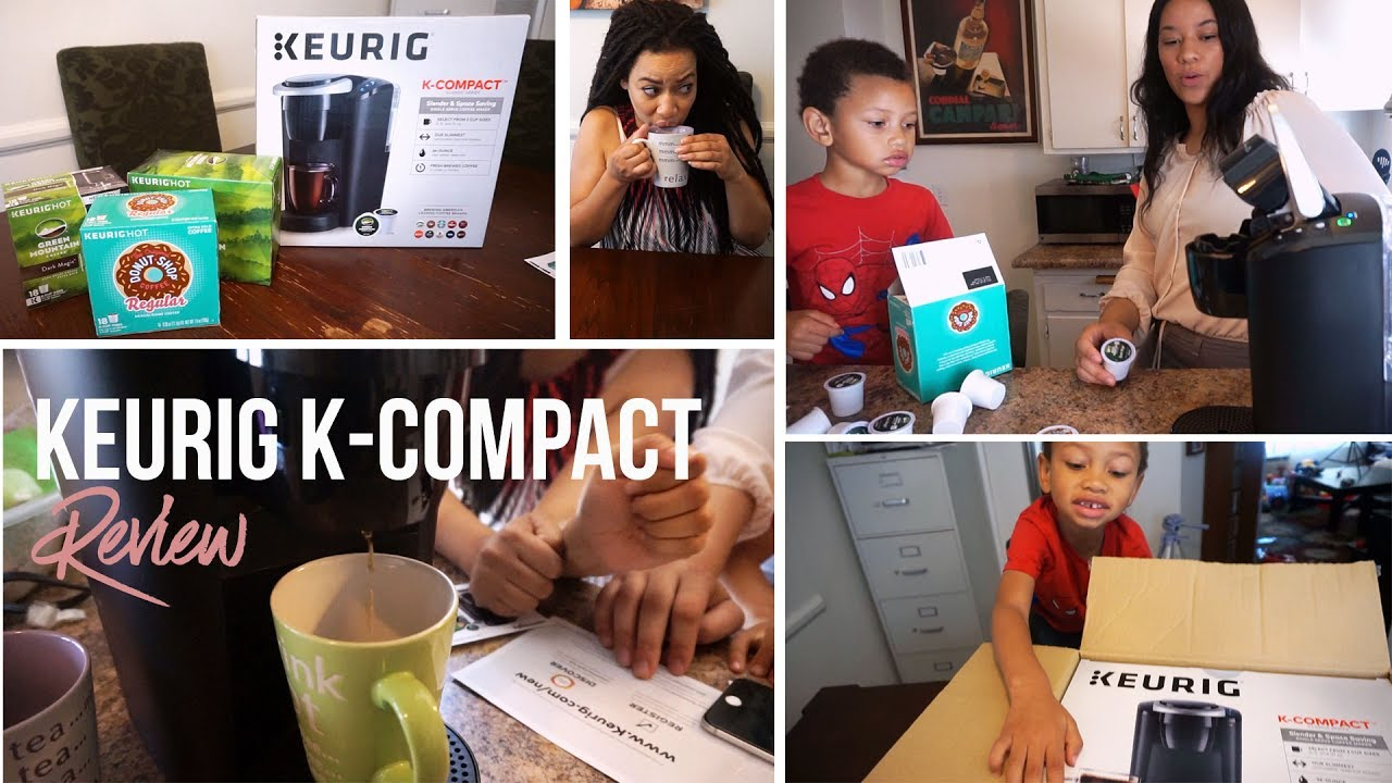 Keurig K Compact Single Serve Coffee Maker Review Youtube