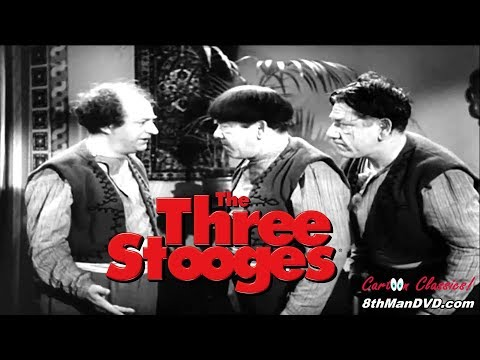 THE THREE STOOGES: Malice in the Palace (1949) (Remastered) (HD 1080p)