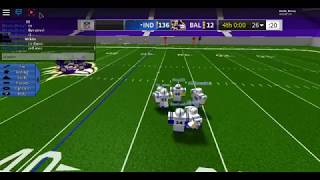 The Score In This Football Game In Roblox, Is INSANE!! (Legendary football)