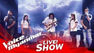 "TeamLynn: ""အေဖနဲ႔အေမေနတဲ့အိမ္"" - Live Show - The Voice Myanmar 2018"