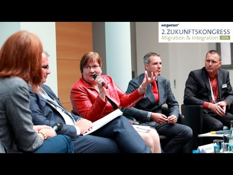 Der Königsweg zur Integration: Arbeit! – 2. Zukunftskongress Migration & Integration 2016