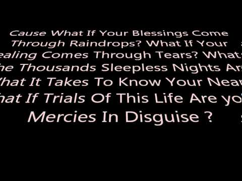 Laura Story Blessings (accompaniment track)