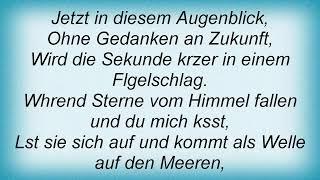 Schiller - Das Ende Lyrics