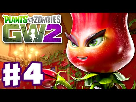Plants vs. Zombies: Garden Warfare 2 - Gameplay Part 4 - Rose Quests! (PC)