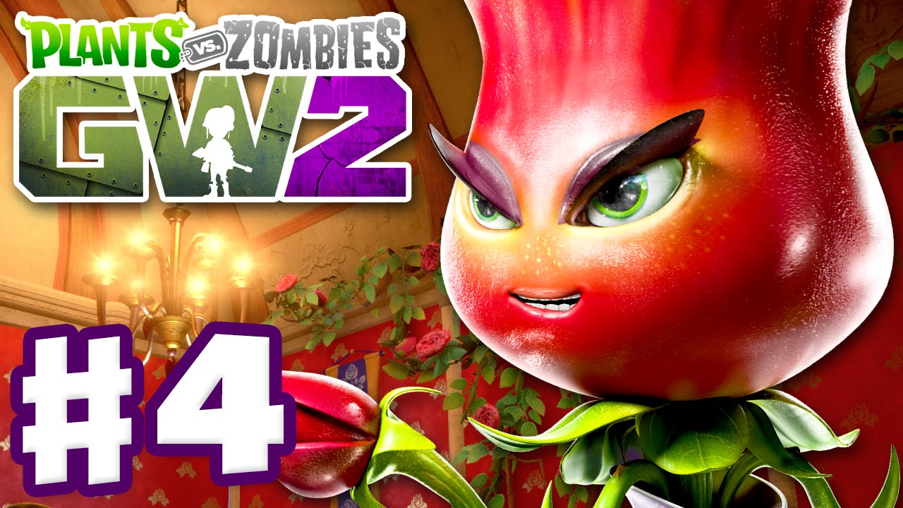 Plants Vs Zombies Garden Warfare 2 Gameplay Part 4 Rose Quests Pc Youtube