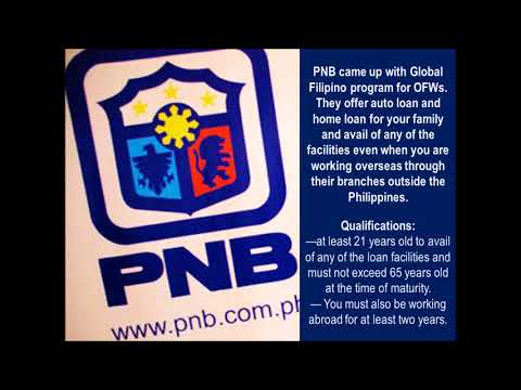 Banks In The Philippines With Special Loan Packages For OFWs