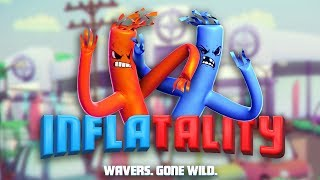 Inflatality - Wacky Inflatable Fighting! (Multiplayer Gameplay)