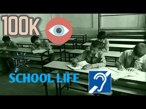 SCHOOL LIFE - THEN VS NOW - | BARDAN DHAKAL DEAF
