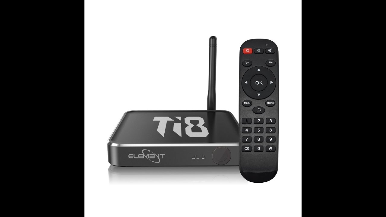 Review: Element Ti8 Octa Core Android TV Kodi Box