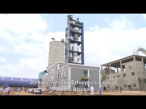 Chinese-built cement factory to tap into Ethiopia's infrastructure drive thumbnail