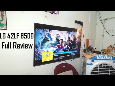 LG 42lf6500 42 Inch 3D LED TV Review | Full Features | Video | Audio Quality Test | 2018 model India