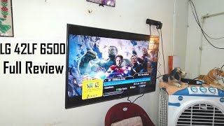 LG 42lf6500 42 Inch 3D LED TV Review | Full Features | Video | Audio Quality Test | 2017 model India