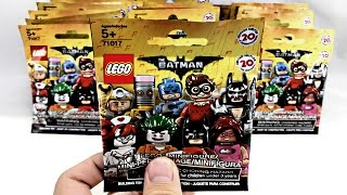 LEGO Batman Minifigures - 25 pack opening!