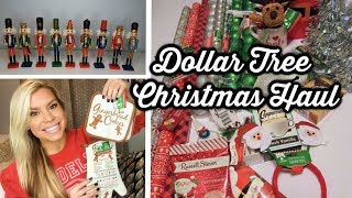 DOLLAR TREE CHRISTMAS HAUL | NUTCRACKERS & ORNAMENTS | CHIC ON THE CHEAP