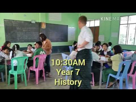 A day in the life of an ACU student at PDO Mandalay