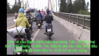 Viet Nam cảnh vật- Việt Nam con người-Đường về Bến Tre, quê hương xứ dừa