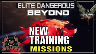 Elite Dangerous 2020 New Instructor-Led Training Missions | Elite dangerous beginners guide