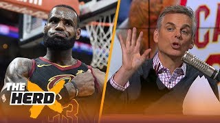 Colin Cowherd on Boston Celtics' brewing dynasty, Talks LeBron vs Raptors | NBA | THE HERD
