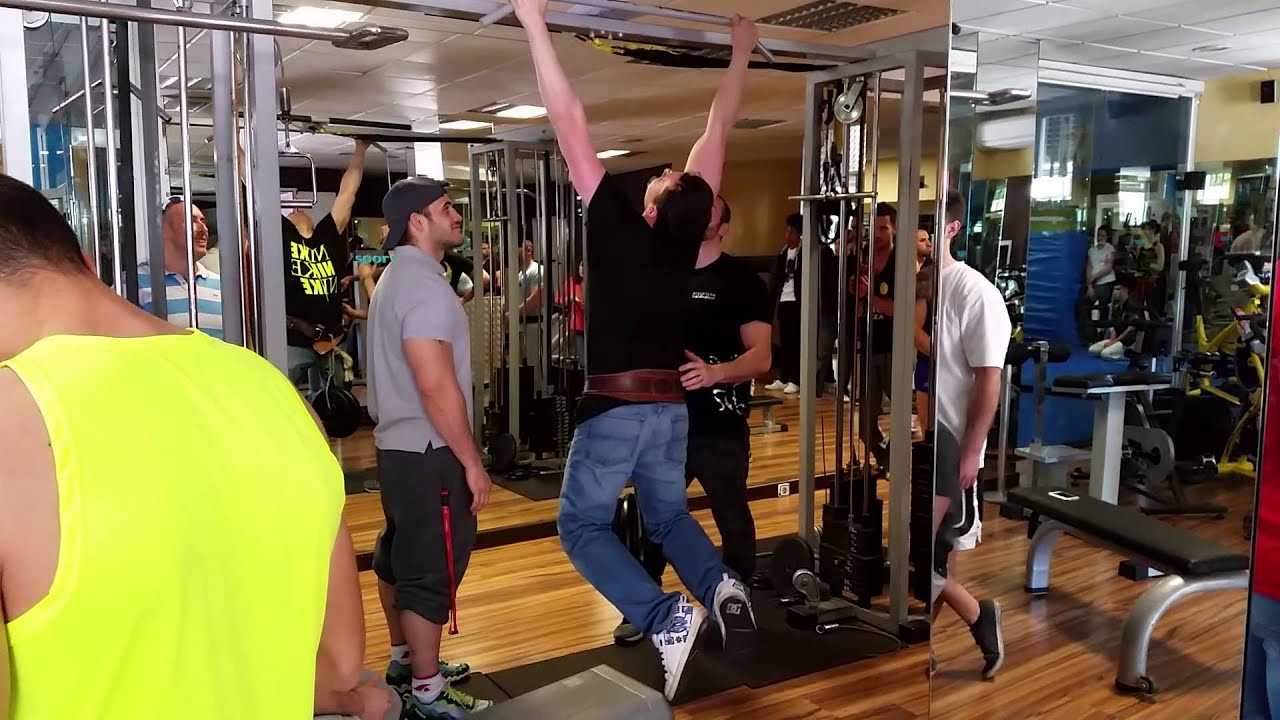 Competici n fitness dominadas sculpture youtube for Gimnasio leganes