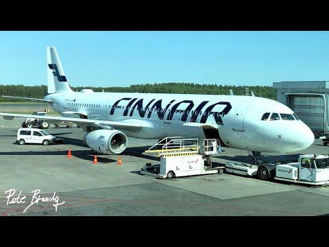 TRIP REPORT   Finnair   Airbus A321 (sharklets)   Helsinki - Prague   Economy
