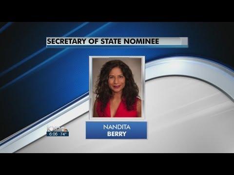 Nandita Berry tabbed as Secretary of State