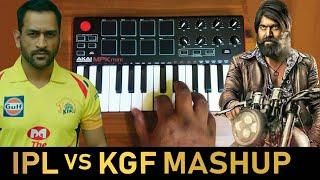 IPL X KGF Bgm Cover By Raj Bharath