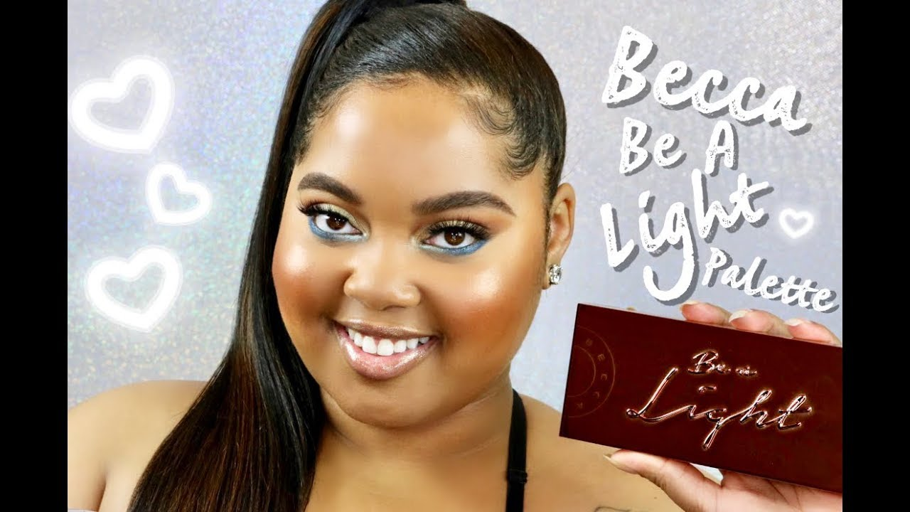 Becca Be A Light Face Palette Review Demo Kelseebrianajai