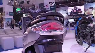 Suzuki Burgman Street 125cc Scooter Walkaround India Launch & details in Hindi \ Auto Expo 2018