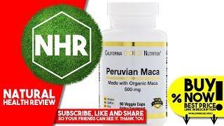 California Gold Nutrition, Peruvian Maca, Organic Root, 500 mg, 90 Veggie Caps