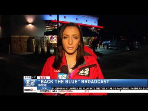 KBOI 670 Hosts Back the Blue