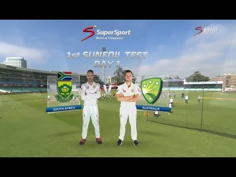 South Africa vs Australia, 1st test build up