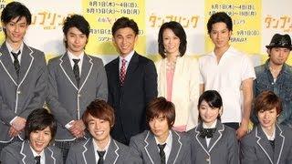 俳優の中尾明慶さんが4月24日、東京都内で主演舞台「『タンブリング』vo...