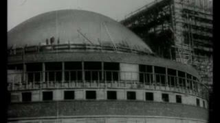 Строительство Оперного театра (Дома науки и искусства), 1933-1935