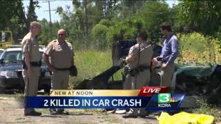 2 children killed in Yolo County crash