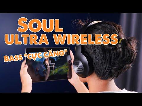"""Tai nghe headphone """"siêu bass"""" giá siêu tốt dưới 1 triệu - Soul Ultra Wireless"""