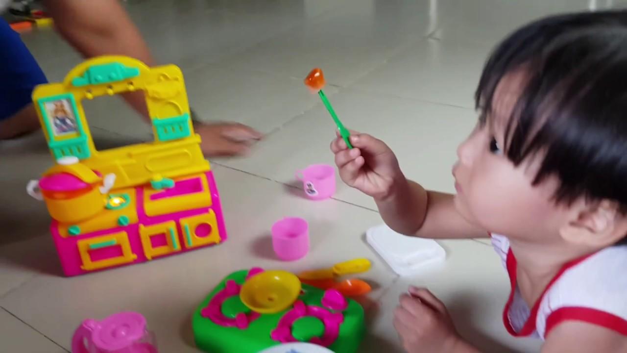 Trò Chơi Bé Tin Tập Nấu Ăn, Bé Tập Làm Bếp ✔ Kids Toy Media