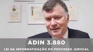 Marcos da Costa - Pontos da lei 11.419/06 questionados na ADIn 3.880