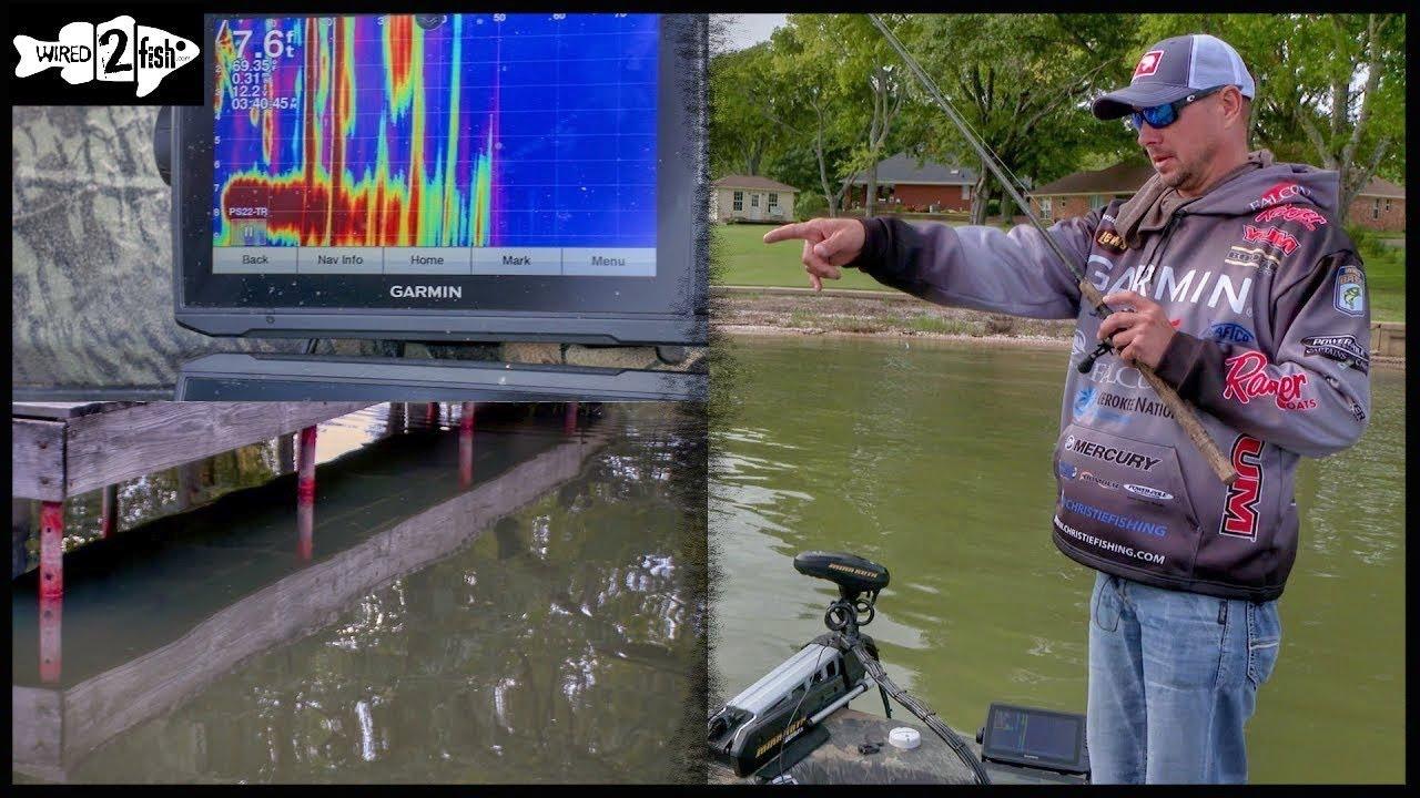 Find Bass-Holding Docks With Garmin Panoptix