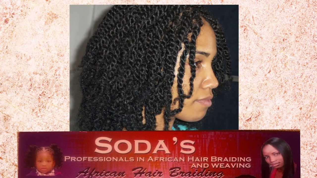 Soda African Hair Braiding - YouTube