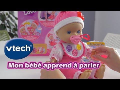 Vtech Mon bébé apprend à parler (Little Love) - en français