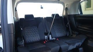 3列目中央のシートベルト着用 30系 ヴェルファイア