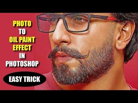 Photo to Oil paint effect – Photoshop tutorial 2019 thumbnail