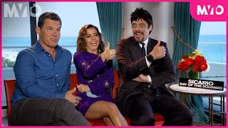 """The Cast of """"Sicario: Day of the Soldado"""" Play Thumbs Up, Thumbs Down 