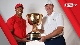 Tiger Woods & Ernie Els headed to Melbourne - 2019 Presidents Cup