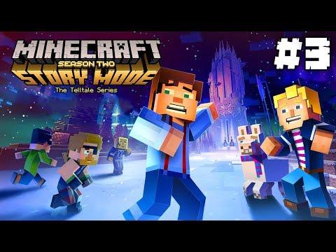Minecraft Story Mode: Season 2 | Lučištnická challenge | Část #3 - Epizoda 2 | Pedro