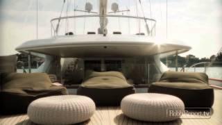 Perini Navi's 184-foot luxury sailing yacht Panthalassa