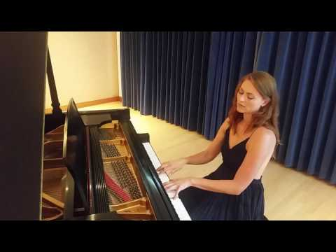 Kat Martin playing Nocturne by Chopin