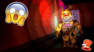 Video NIGHTMARE FREDBEAR CAUGHT IN MY HALLWAY! (FNAF 4 IN 3D RedHatter) download MP3, 3GP, MP4, WEBM, AVI, FLV Januari 2018